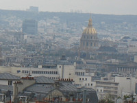View from the Stairs of Sacre-Coeur (Invalides)